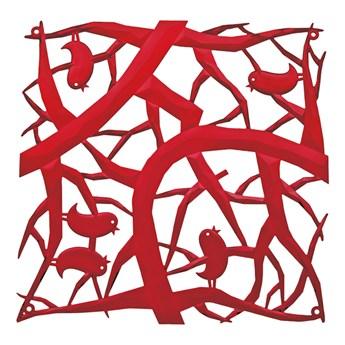 Panele dekoracyjne 4 szt. Koziol Pi:p czerwone kod: KZ-2042536
