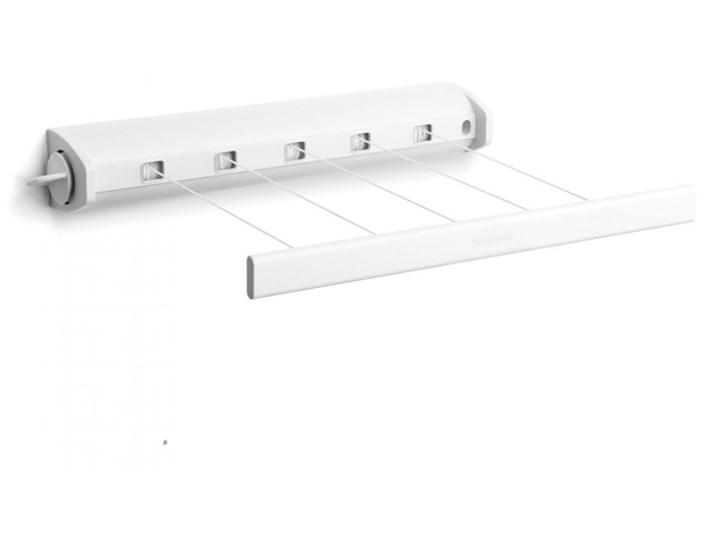 Suszarka łazienkowa rozciągana 22m Brabantia biała kod: BR 38-57-28 Ścienne Kategoria