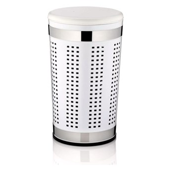 Kosz na pranie 60,5 cm Kela Sevilla biały kod: KE-21817