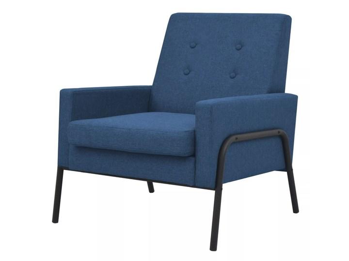 Fotel wypoczynkowy KLARA tapicerowany do salonu 3 kolory Styl Nowoczesny Tkanina Tkanina Tkanina Tkanina Wysokość 42 cm Styl Nowoczesny