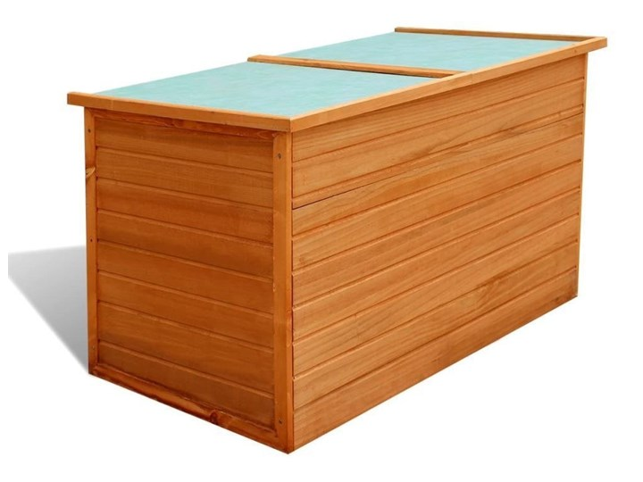 Skrzynia ogrodowa DECK 125 cm drewniana, kufer