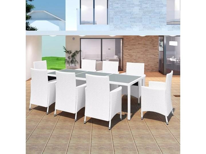 Zestaw ogrodowy PATAGONIA meble ogrodowe z technorattanu Stal Zestawy wypoczynkowe Aluminium Stal Tworzywo sztuczne Tworzywo sztuczne Aluminium Zawartość zestawu Z fotelem