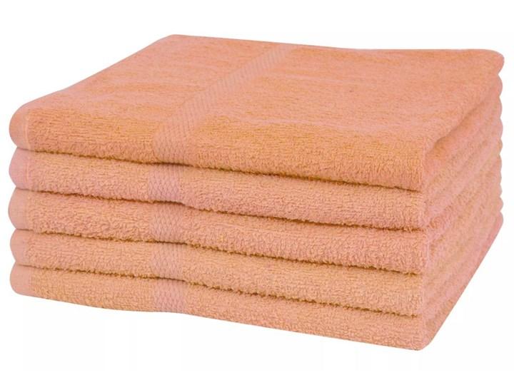 vidaXL Ręczniki do sauny, 5 szt, bawełna 360 g/m², 80x200, brzoskwinia Frotte Ręcznik do sauny Komplet ręczników 80x200 cm