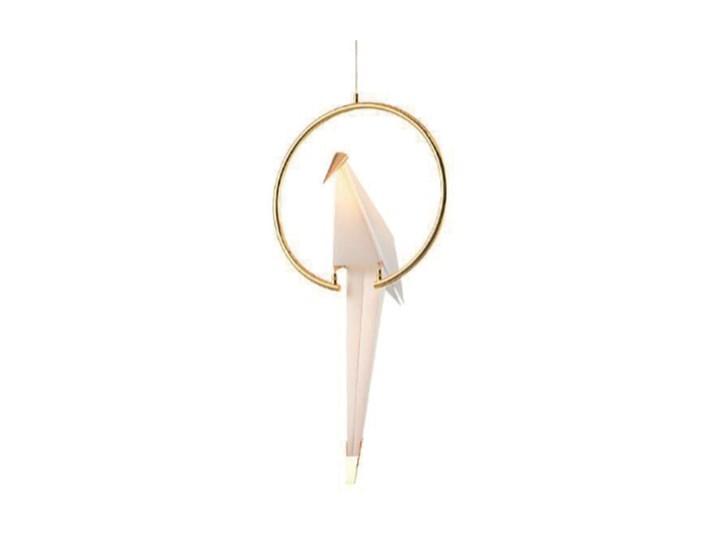 Ptaki - lampa wisząca nowoczesna Lampa inspirowana Tworzywo sztuczne Metal Lampa z kloszem Kategoria Lampy wiszące
