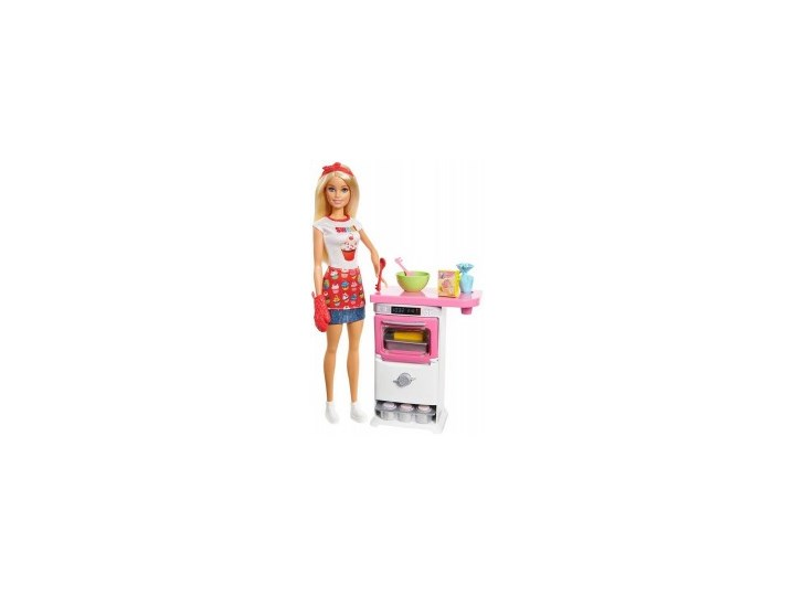 Barbie Domowe Wypieki Zestaw Do Zabawy Lalka Lalki I Akcesoria