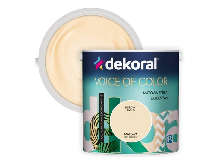 Farba Dekoral Voice of Color beżowy jasny 2,5 l