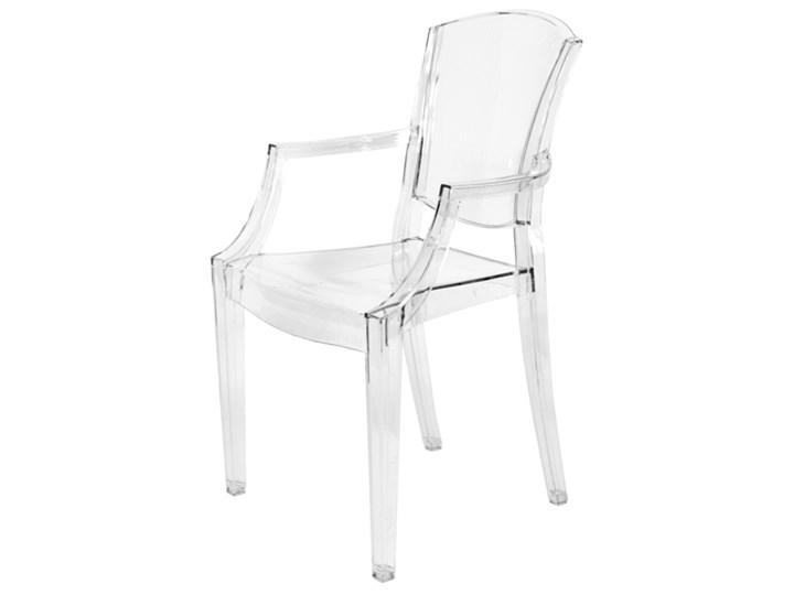 Krzesło Plastikowe Peony Bezbarwne Uniw