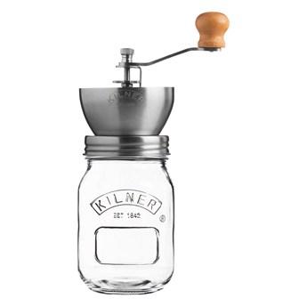 Młynek do kawy 0,5 l Kilner srebrny/przezroczysty kod: 0025.785