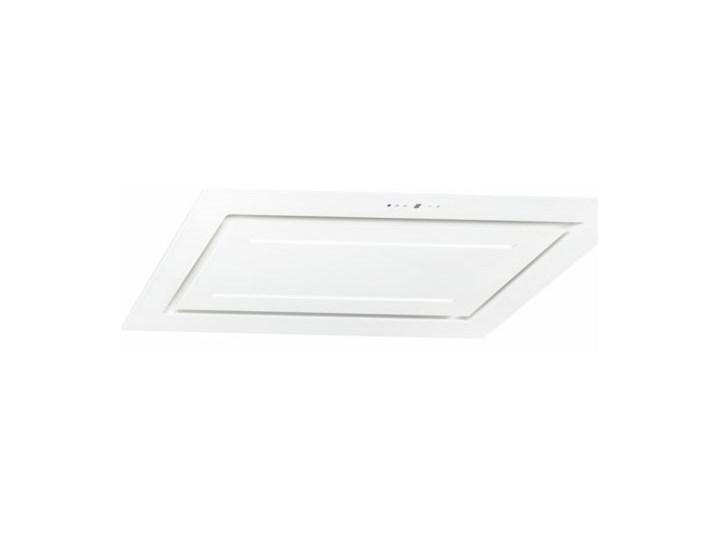 Okap sufitowy Grand Super Slim White 120 cm Szerokość 96 cm Sterowanie Elektroniczne