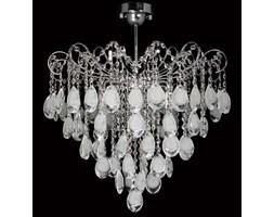 LAMPA sufitowa VEN E 1273/6 kryształowa OPRAWA pałacowa crystal przezroczysta