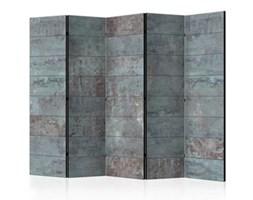 Parawan 5-częściowy - Turkusowy beton II f-A-0161-z-c