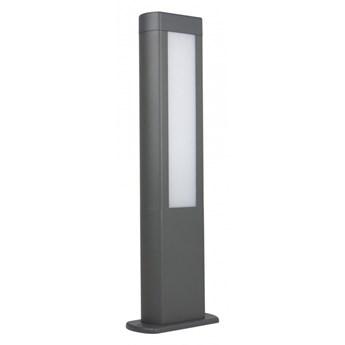 EVO 50 lampa stojąca 1 x 12W LED słupek ogrodowy nowoczesny szary minimalistyczny SUMA GL15402