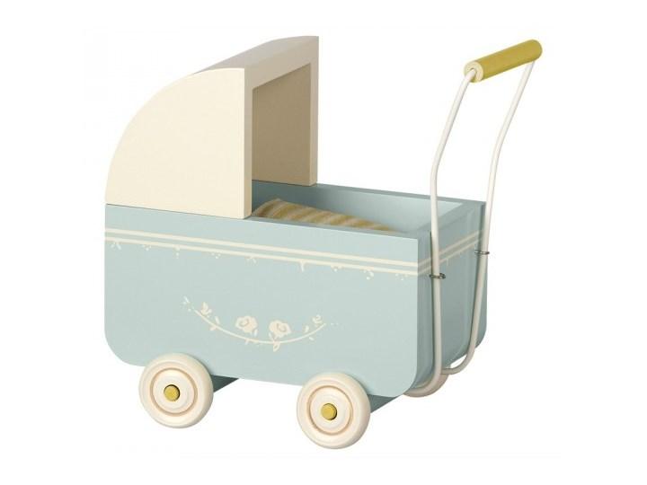 Maileg, Wózek dla myszki - Pram, Micro - Powder, Blue niebieski