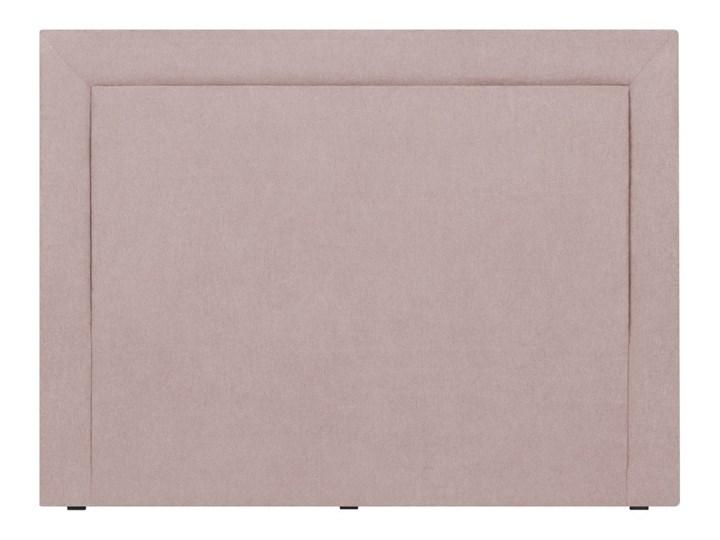 Jasnoróżowy Zagłówek łóżka Mazzini Sofas Ancona 180x120 Cm