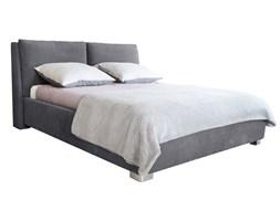 Szare łóżko 2-osobowe Mazzini Beds Vicky, 140x200cm