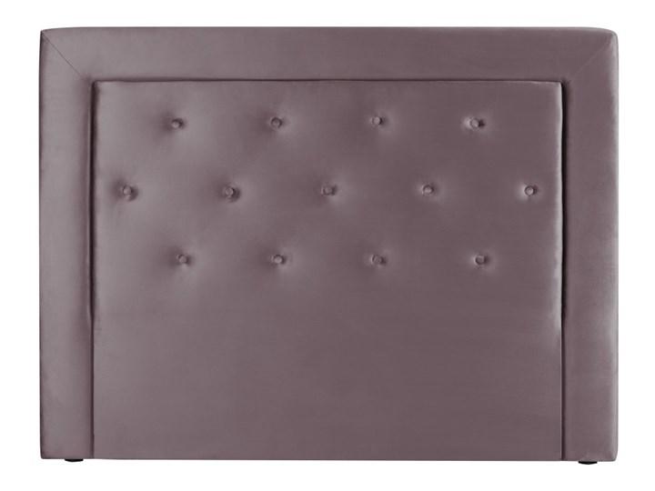 Liliowy Zagłówek łóżka Cosmopolitan Design Cloud Szer 140 Cm
