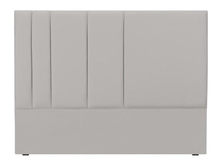 Szary Zagłówek łóżka Mazzini Sofas Dahlia 120x140 Cm