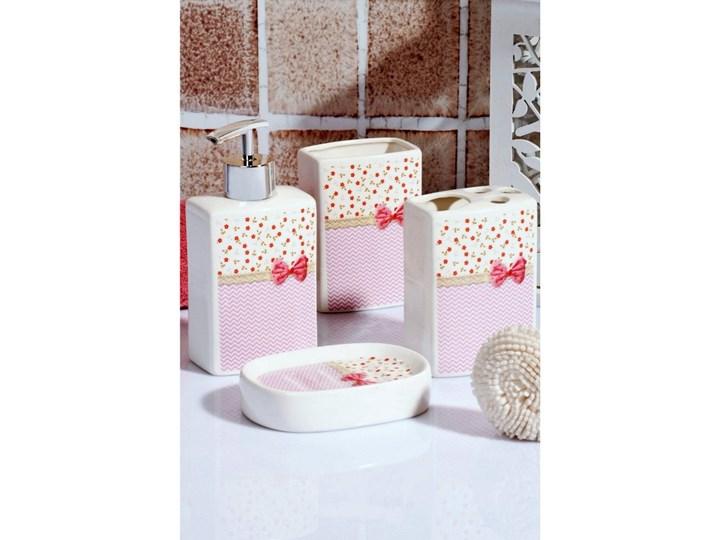 Komplet dodatków łazienkowych Pinky