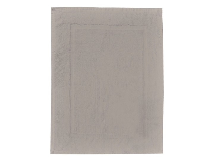 Szarobeżowy bawełniany dywanik łazienkowy Wenko, 50x70 cm Bawełna Kategoria Dywaniki łazienkowe