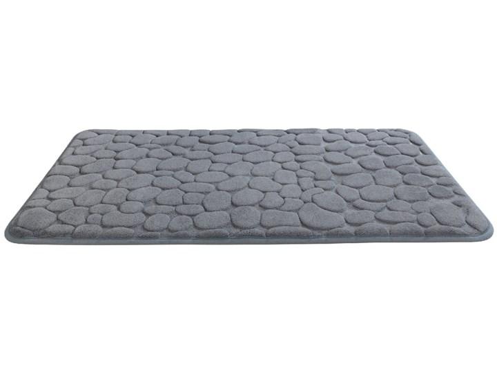 Szary dywanik łazienkowy z pianką z pamięcią kształtu Wenko Grey, 80x50 cm 50x80 cm Kategoria Dywaniki łazienkowe