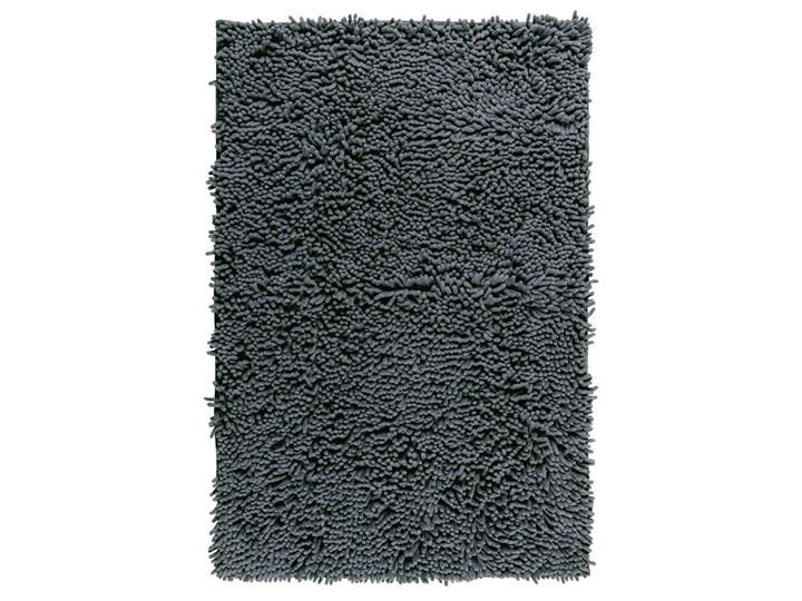 Grafitowy dywanik łazienkowy Wenko Chenille, 80x50 cm 50x80 cm Kolor Szary