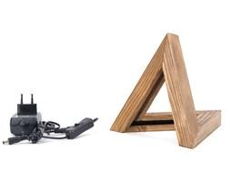 Drewniana lampa stołowa Triangle