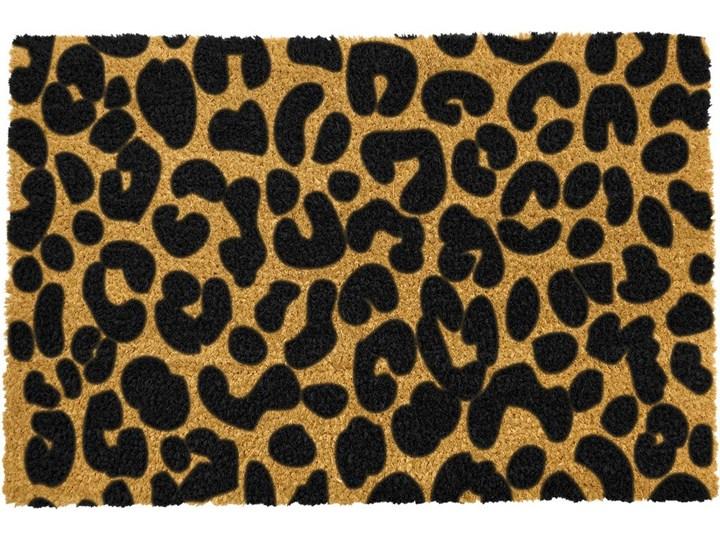 Wycieraczka z naturalnego włókna kokosowego Artsy Doormats Leopard, 40x60 cm Włókno kokosowe Kategoria Wycieraczki Kolor Beżowy