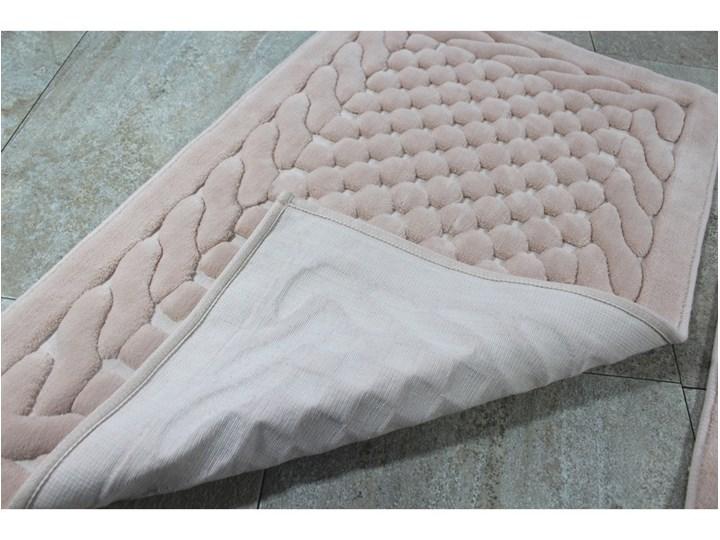 Zestaw 2 dywaników łazienkowych Alessia Bambi Powder 50x60 cm 60x100 cm Prostokątny Kategoria Dywaniki łazienkowe