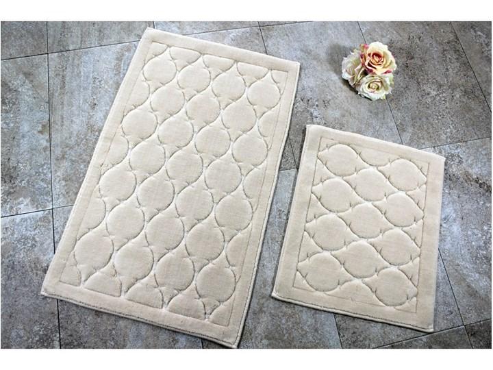 Zestaw 2 dywaników łazienkowych Dante Prostokątny 60x100 cm 50x60 cm Kategoria Dywaniki łazienkowe Kolor Biały