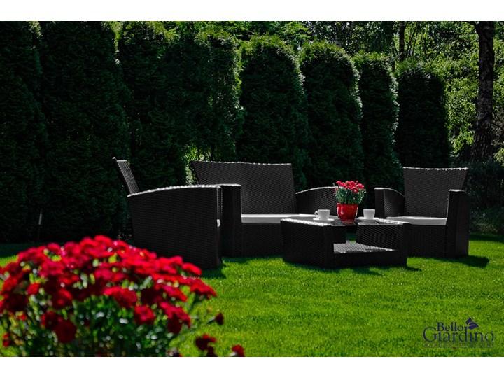 Meble ogrodowe z technorattanu UNICO Kategoria Zestawy mebli ogrodowych Zestawy wypoczynkowe Zawartość zestawu Stół