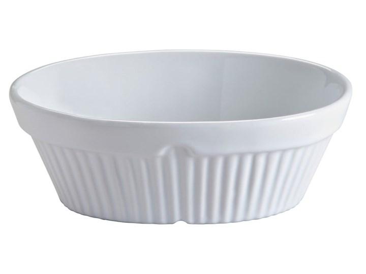 Białe naczynie kamionkowe do zapiekania MasonCash Classic Collection Ceramika Kolor Biały