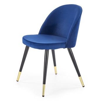 Tapicerowane krzesło do jadalni z niskim oparciem K315