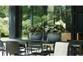 Donica ALLURE Soft High 43/46 cm - kora brązowa Plastik Donica ogrodowa