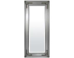 MILORD lustro w srebrnej ramie, 140x60x3 cm, rama 11 cm