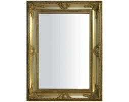 MALUNA lustro w złotej ramie stylizowanej, 90x120 cm, rama 16 cm