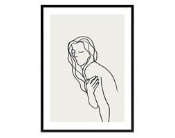 PICASSO - SZKIC obraz w czarnej ramie, 53x73 cm