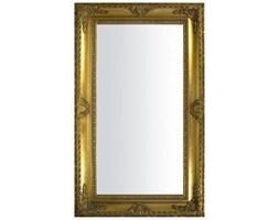 BERETTI lustro złote w ramie stylizowanej, 150x90 cm, rama 16 cm