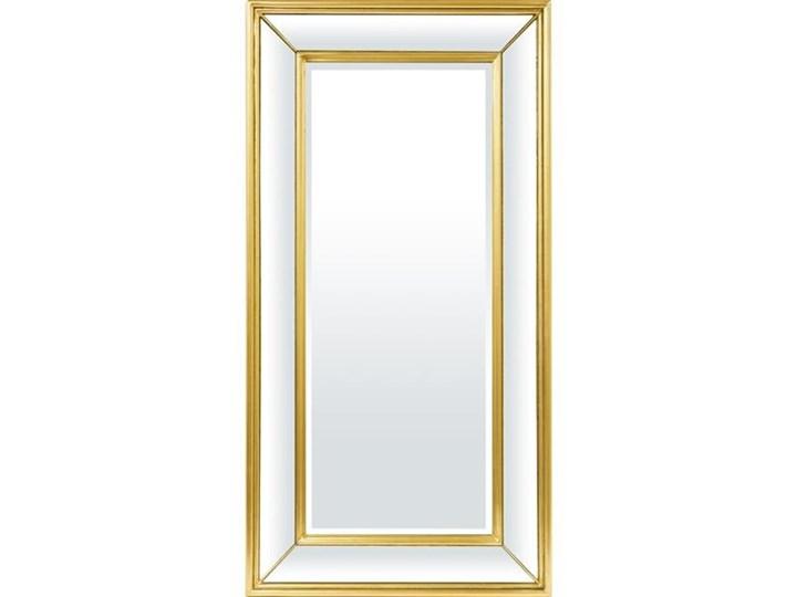 MADRYD eleganckie klasyczne lustro w złotej ramie, 120x62 cm