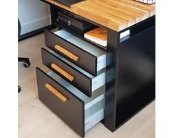Kontener z szufladami do biurka w stylu industrialnym