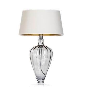 Lampa stołowa BRISTOL TRANSPARENT BLACK L046311503 4concepts L046311503
