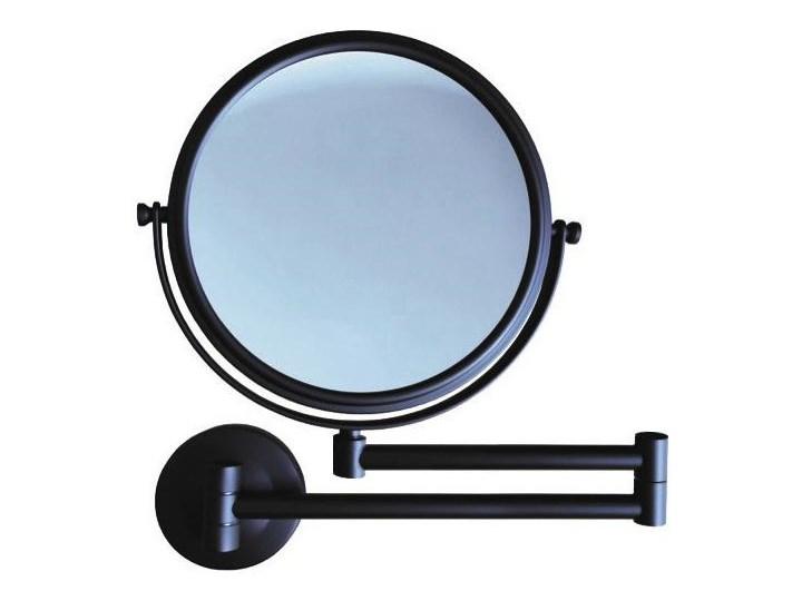 STELLA 22.01130-B czarne lusterko kosmetyczne okrągłe powiększające x3