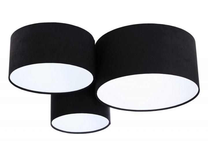Plafon Various Czarny Kolor apli: biały