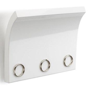Panel z magnesami na klucze i listy Umbra Magnetter biały kod: 318200-660
