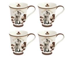 Kubki porcelanowe 4 szt. Nuova R2S Chocolate Vintage kod: 1125 CHOV