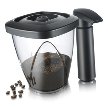 Pojemnik próżniowy na kawę lub herbatę z pompką Tomorrows Kitchen 1,3l kod: TK-2883460