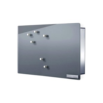 Magnetyczna skrzynka na klucze Blomus Velio pozioma szara kod: B65365