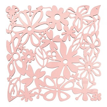 Panel dekoracyjny 4 szt. 27x27cm Koziol Alice pastelowy róż kod: KZ-2035638