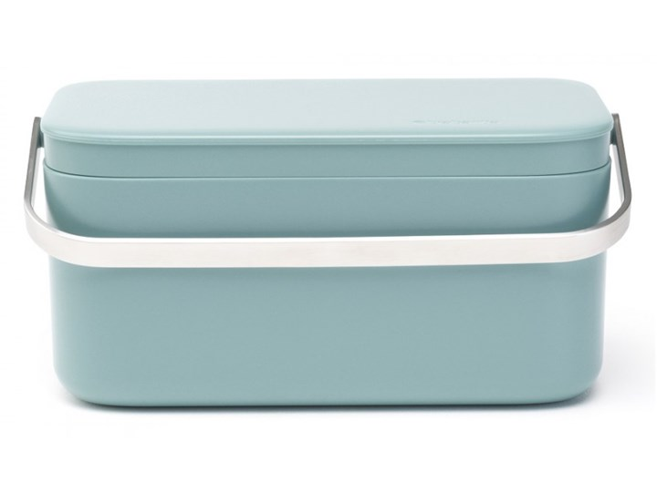 Pojemnik na odpady organiczne Sink Side Brabantia miętowy kod: 11 75 65 Stal Pojemność 8 l Tworzywo sztuczne Pojemność 1,8 l