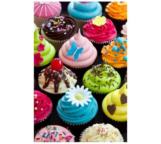 Mini Cup Cakes Anniversaire Fille