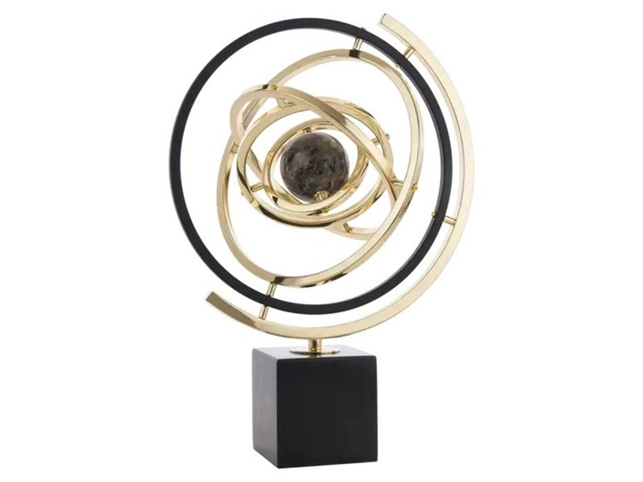 Dekoracja Universe Black & Gold 31x43cm Cosmo Light